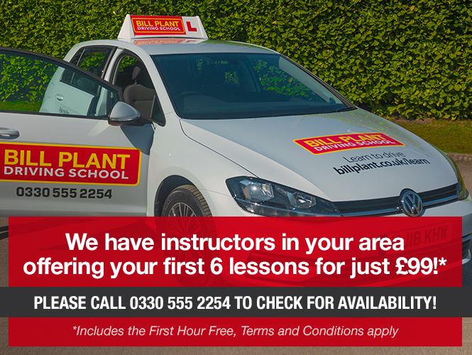 6 driving lessons for £99