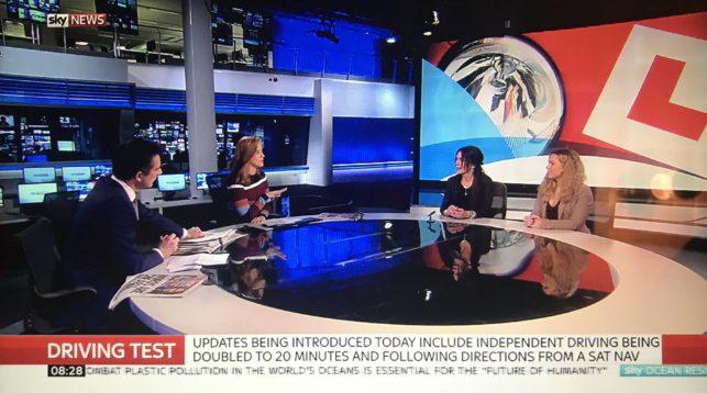 Driving School Lessons Sky News Bill Plant Driving School