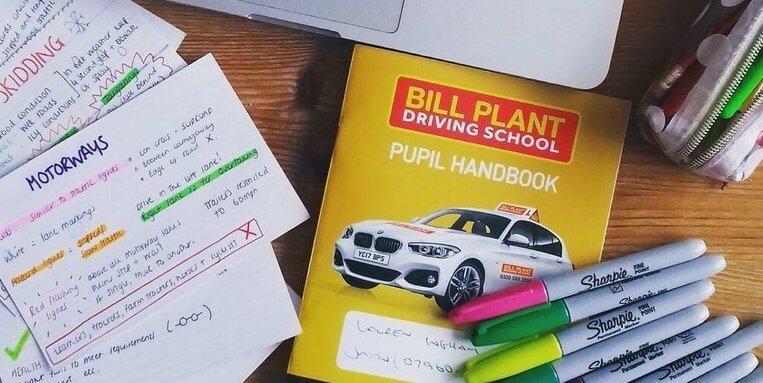 bill plant driving school Manchester