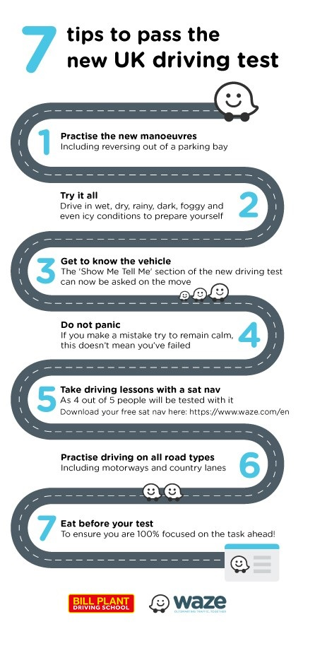 Tips to Pass your UK Driving Test from Bill Plant Driving School