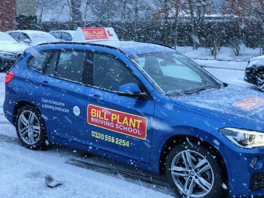 Winter Driving Tips from Bill Plant Driving School