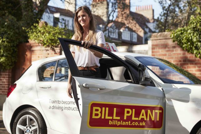 bill plant driving lessons manchester