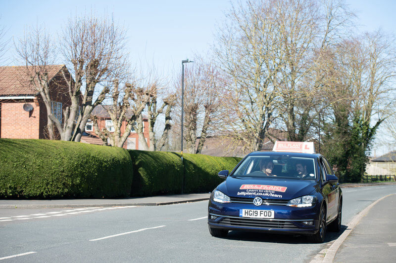 driving lessons from a bill plant driving instructor