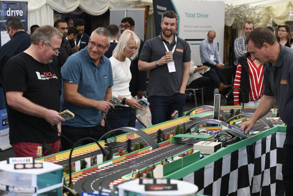 Bill Plant Driving School Scalextric