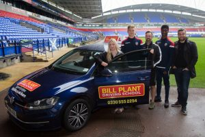 Bolton Wanderers and Bill Plant Driving School