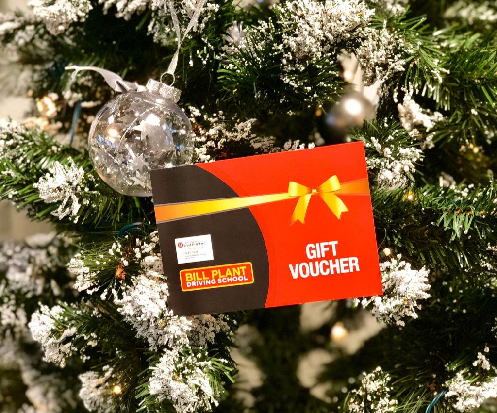 Bill Plant Driving School Christmas Driving Lesson Gift Voucher