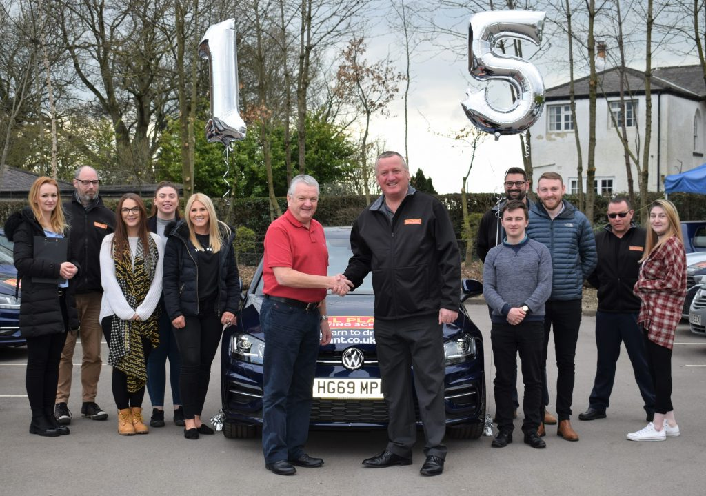 Long serving Bill Plant Driving School franchisee