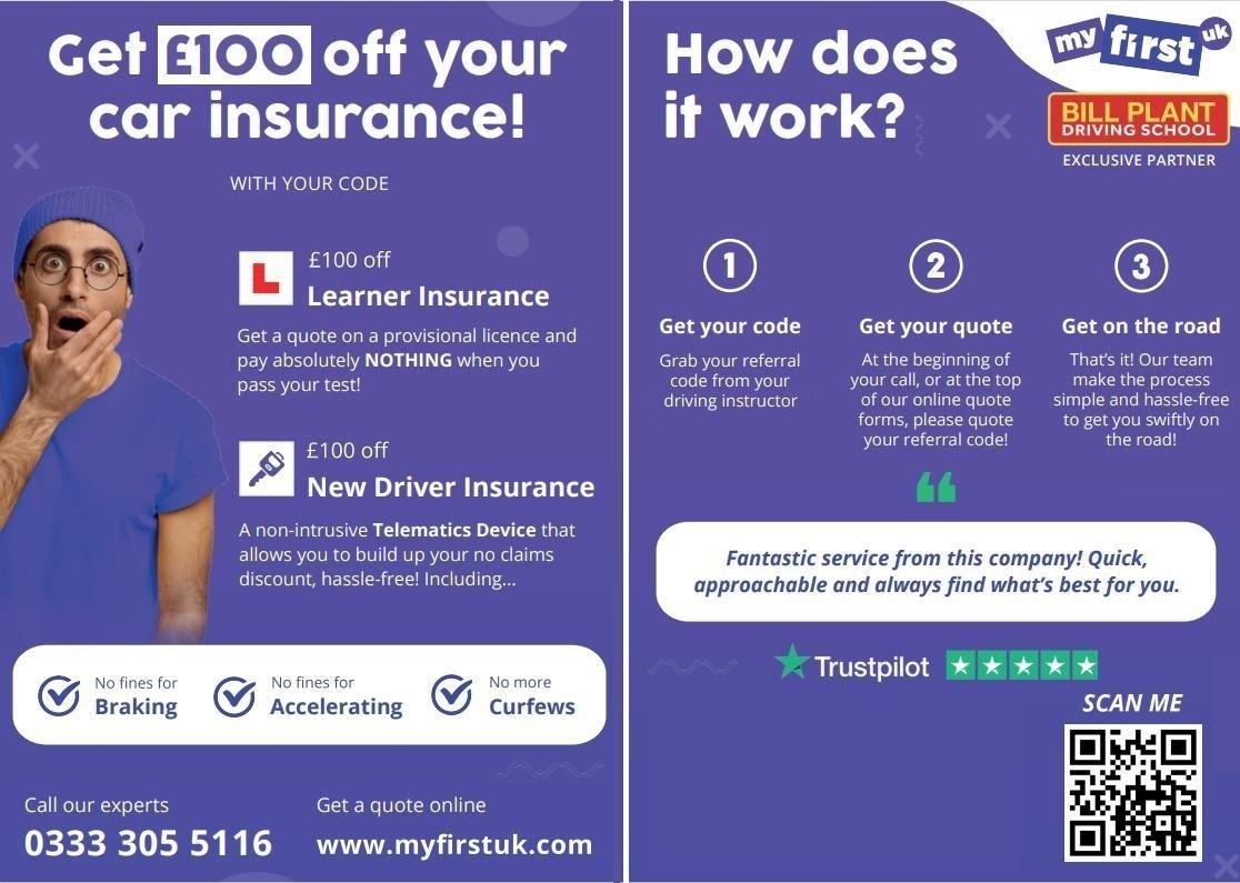 MyFirstUK Learner Driver Insurance