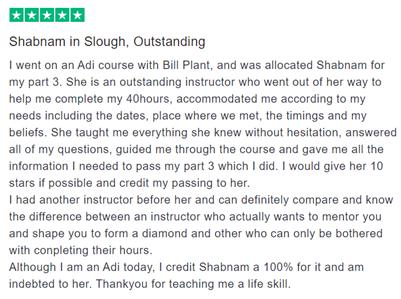 Shabnam pupil review